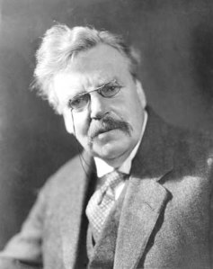 Gilbert K Chesterton
