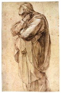 michelangelo-buonarroti-study-of-a-mourning-woman-1493-97-pen-and-brown-ink-heightened-with-white-1352415263_b